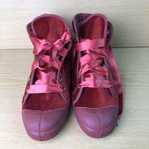Free People Bensimon Mid-Top Sneakers